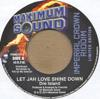 LET JAH LOVE SHINE DOWN/RAISING YOUR VOICES FOR FREEDOM