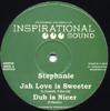 JAH LOVE IS SWEETER/DUB/WALK WITH JAH LOVE/DUB