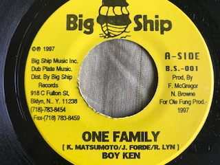ONE FAMILY/REGGAE SKA VERSION