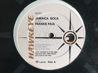 JAMAICA SOCA/SAMPSON AND PAUL