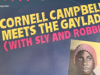 CORNELL CAMPBELL MEETS THE GAYLADS(WITH SLY AND ROBBIE)