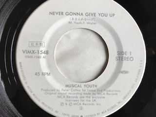 NEVER GONNA GIVE YOU UP/RUB `N` DUB/JIM`LL FIX IT